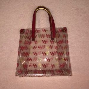 Perfect condition Dooney and Bourke plastic tote
